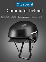 $enCountryForm.capitalKeyWord Australia - GUB CITY PRO helmet PC+EPS(integrated molding) retro, urban leisure Bicycle Helmet 54-58cm black orange