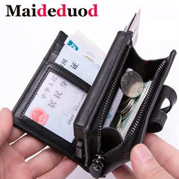 $enCountryForm.capitalKeyWord Australia - Maideduod New Aluminum Wallet Credit Card Holder Metal with RFID Blocking Multifunction Wallet Travel Metal Case Men Card Holder Black