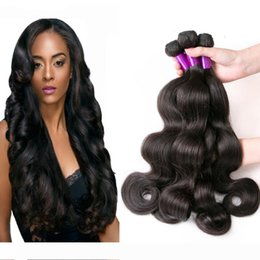 best quality remy hair weave UK - Peruvian Body Wave 100% Unprocessed Human Virgin Hair Weaves 8A Best Quality Remy Human Hair Extensions Human Hair Weaves Dyeable 3 bundles