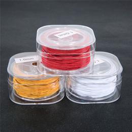 $enCountryForm.capitalKeyWord Australia - wholesale 1 Box Round Nylon Coated Elastic Cord Beading Stretch Thread String Rope for DIY Bracelets Beaded Jewelry Making Crafts