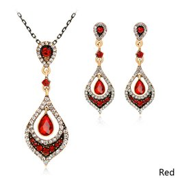eb41a509e452 Accessories Luxury Personality Vogue Jewelry Sets Faddish Style Necklace  Available Earrings Beauty