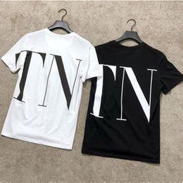 Black white designer shirts for men online shopping - Designer Womens T Shirt Letter Printed Short Sleeve Tee for Summer Black White Breathable Brand Tshirts Size S XL