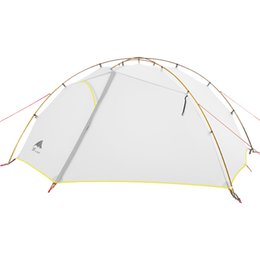 construction gear Australia - 3F UL GEAR Green and white 4 Season Camping Tent 15D Nylon Double Layer Waterproof Tent for 2 Persons