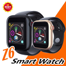 $enCountryForm.capitalKeyWord Australia - Best Z6 Smartwatch For Apple Iphone Bluetooth 3.0 Smart Watch With Camera Supports SIM TF Card For Android Smart Phone