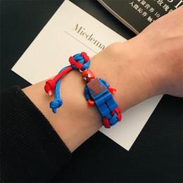 $enCountryForm.capitalKeyWord Australia - 2019 New Style Building Blocks Bracelet Hand-woven Cartoon Bracelet Animated Anime Couple Student Commemorative Charm Bracelets Hot Sell