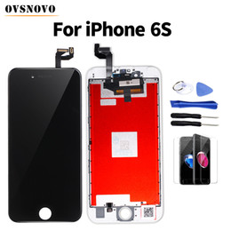 Iphone Glasses Display Australia - Pantalla Screen Replacement For iPhone 6 6s LCD Display Touch Screen Digitizer Assembly with Tempered Glass&Tools No Dead Pixel