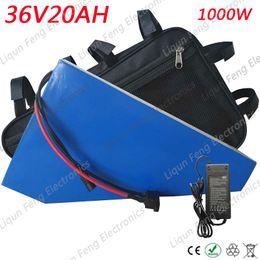 36v lithium ion battery online shopping - No Tax High Quality W Power V AH Electric Bike lithium ion battery pack V AH with Battery Bag A BMS V A Charger