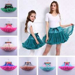 Toptan satış Yaz Kadın Kız Tutu Etek Lolita pettiskirt Petticoat Elastik Kabarık şifon Tutuş Parti Bale Pileli Elbise Prenses Etek D61608