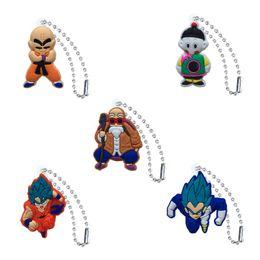$enCountryForm.capitalKeyWord NZ - Dragon Ball Action Figure High Quality PVC Keychain Key Ring Anime Key Chain Fashion Accessories Packed Kawaii Party Favors Kid Gift