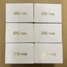 i9 i9s TWS беспроводные наушники стерео bluetooth 5.0 наушники наушники для IOS Android телефон + магнитная коробка зарядки силиконовый чехол протектор на Распродаже