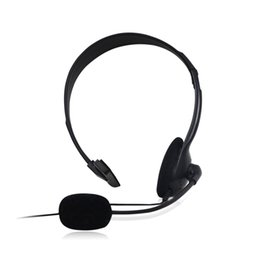 headphone for one ear UK - Professional Game Headphone Esport Headset Single Side One Ear Headphone Clearly Sound Confortable Wear for Operator earphones