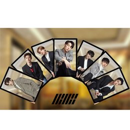 $enCountryForm.capitalKeyWord Australia - iKON Members PVC Clear Photo Card Bobby B.I HD Photocard Jin Hwan Jun Hoe Collective Cards Blink Fan Cards