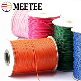 Diy Bracelets Thread Australia - meetee High Tenacity Thread Polyester Cord Wedding Gift Bouquet Packing Rope DIY Bead Bracelet Cords DIY Crafts