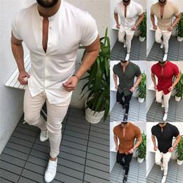 $enCountryForm.capitalKeyWord Australia - Men Formal T Shirt Mens Tshirt Summer Designer Casual Luxury Shirts Regular Slim Fit Shirts Short Sleeve Clothes White Red Black Tees
