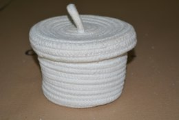 $enCountryForm.capitalKeyWord Australia - INS new design Handmade ECO-friendly Housekeeping cotton rope For baby Toys sundries Organization Storage basket