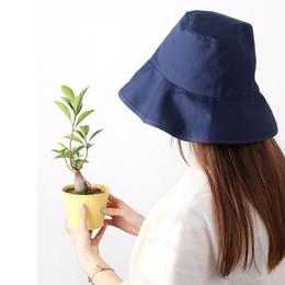 $enCountryForm.capitalKeyWord Australia - Bucket Hats Men Women Adult Cotton Wide Brim Flat Top Fisherman Golf Cap Bucket Hat For Women Summer Travel Neutral Shade Hat T7