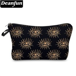 $enCountryForm.capitalKeyWord NZ - Deanfun 3D Printing Eyes Make Up Bag Waterproof Cosmetic Bags Roomy Travel Makeup Cases Gift Travel Dropshipping 51353 #186685