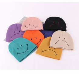 $enCountryForm.capitalKeyWord Australia - New Fashion Unisex Newborn Baby Boy Girls Cotton Smile Hats Soft Cute infant Knit Beanie Caps