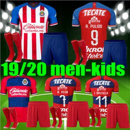 $enCountryForm.capitalKeyWord Canada - new 19 20 men kids liga mx chivas Guadalajara soccer jersey 2019 2020 BRIZUELA PULIDO LOPEZ PIZARRO chivas adult child football kit shirt