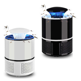 Electric Mosquito Killer Lamp USB Photocatalyst Mosquito Killer Fly Moth Bug Insect Trap lamp powered bug zapper mosqito killer ZZA2420 on Sale