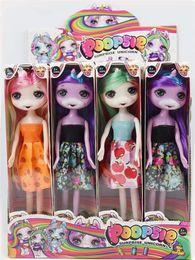 $enCountryForm.capitalKeyWord Australia - 9 Inch Classic unicorn doll PVC Anime Action Figures Realistic Reborn Dolls Gift 4 Styles lol dolls 12pcs Display box