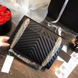 Luxury Chains Australia - HOT Famous designer fashion luxury ladies brand chain shoulder bags messenger bag women envelope crossbody free shipping 3A 39