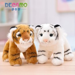 $enCountryForm.capitalKeyWord Australia - Little Tiger Stuffed Animal Collectible Plush Toys Pillow Car Decoration Cute Baby Valentine's Day Gifts Hot Toys Dolls