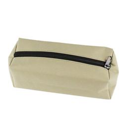 Discount hand drill bits - Hand Tool Storage Bag Small Screws Nails Drill Bit Metal Parts Tools Bag Waterproof Canvas Instrument Case Organization