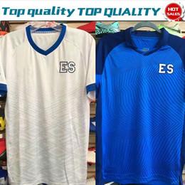 04283d3252b 2019 El Salvador Blue White Soccer Jerseys 19 20 national football team  short sleeve Soccer Shirt Football Uniforms On Sale Drop shipping