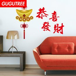 $enCountryForm.capitalKeyWord UK - Decorate Home chinese new year art wall sticker decoration Decals mural painting Removable Decor Wallpaper G-2593