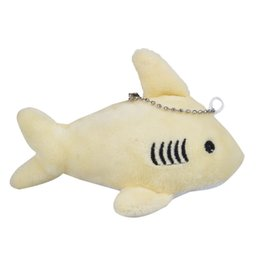 small child toy car NZ - Plush Keychains Shark Stuffed TOY Doll, Mini Small Ocean Animal Key Chain Pendant Plush Toys, Wedding Party Toys for Children