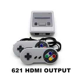 video game handheld consoles wholesale Australia - Mini HDMI can store 621 Game Console Video Handheld for SFC with retail box HDMI Video Handheld for NES boxes