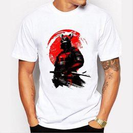 Long Sleeve Modal Tees Australia - Nice Fashion Samurai Warrior T Shirt Men Short Sleeve Original Customize Tee Shirts Man boy T-shirt Summer O-neck Tops Camisetas