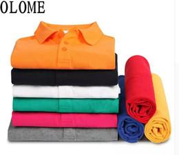Men S Polos Australia - High Quality Crocodil Logo Classic Brand Polo Shirt Tee Men Business Casual Solid Short Sleeve Breathable Polos S-6xl Q190516