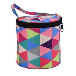 Wool Cloth Soft Australia - New-Home Daily Storage Bag Wool Yarn Crochet Sewing Needle Handbag Weaving Tool Tote Oxford Cloth Material Lightweight Easy To