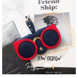 AdorAble bAgs online shopping - Net red ins fashion glasses bag big eye adorable hanging bag glasses case sunglasses protection clip storage portable pendant