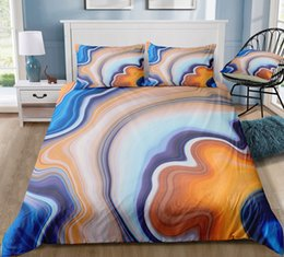 $enCountryForm.capitalKeyWord NZ - Multi-color Marble Bedding Set King Size 3D Duvet Cover Queen Home Textile Printed Single Double Bed Set With Pillowcase 3pcs