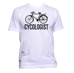 $enCountryForm.capitalKeyWord NZ - Cycologist Bike Cycling T-Shirt Mens Womens Unisex Fashion Slogan Comedy Cool Funny 100% Cotton T Shirt Mens Pride Dark T-shirt