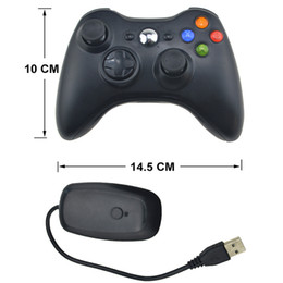 laptop wireless controller Australia - With receiver pc laptop xbox 360 2.4g Wireless Game handle