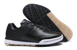 2019 темп гибрид 2 Мужчины Женщины унисекс гольф обувь кожа кроссовки размер 36-44