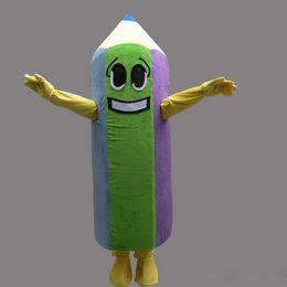 $enCountryForm.capitalKeyWord Australia - Adult size Pencil mascot custom stationery fancy dress costume Shool Event Birthday Party Costume Mascot