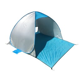 China Outdoor Camping Tent Beach Shade Tents Double Person Portable Quick Opening Scratch Resistant Waterproof Ultra Thin Lightweight 44jr C1 cheap lightweight person tents suppliers