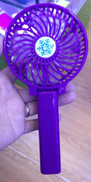 Handy fans online shopping - Handy Usb Fan Foldable Handle Mini Charging Electric Fans Snowflake Handheld Portable For Home Office Gifts RETAIL BOX