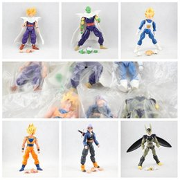 New Dragonball Z Figure Australia - New 6pcs  Set 15cm Dragonball Z Dragon Ball Anime Goku Super Saiyan Joint Movable Action Figure Toy Free Shipping