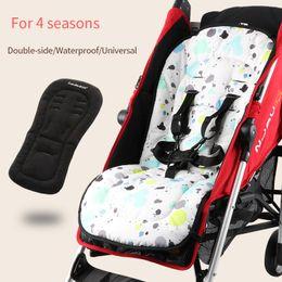 $enCountryForm.capitalKeyWord Australia - Waterproof baby stroller seat cushion Double side seat liner Universal soft pad for four seasons Soft mattress pram accessories