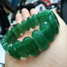 Green aventurine jewelry online shopping - green aventurine jade stone beads bracelet natural gemstone bracelet DIY jewelry for woman for gift