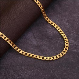 $enCountryForm.capitalKeyWord Australia - 30 pieces, Various models Twisted twist Necklace 6 mm wide 18K gold-plated Necklace Alloy Material Don't fade Hip hop Necklace,16~32 inch