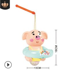$enCountryForm.capitalKeyWord Australia - Vibrating sound toy seaweed pig electric toy new year toy new year lanterns pig new toys