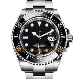 $enCountryForm.capitalKeyWord NZ - Designer Watches Ceramic Bezel SEA-Dweller Sapphire Cystal 316L Stainless Steel Glide Lock Clasp Automatic Mechanical luxury mens watches