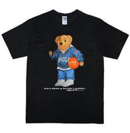 White tshirt polo online shopping - Vintage Polo Bear Play Basket T shirt Size S XL Reprint RareFunny Unisex Casual Tshirt dropshipping